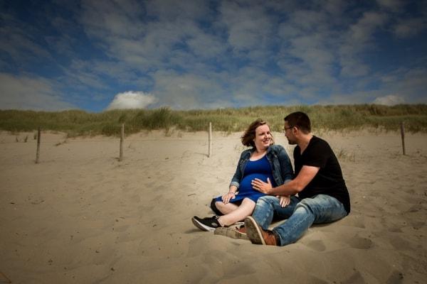 Zwangerschapsreportage in Friesland