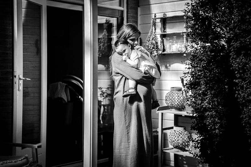 Zwangerschapsreportage in Middenbeemster
