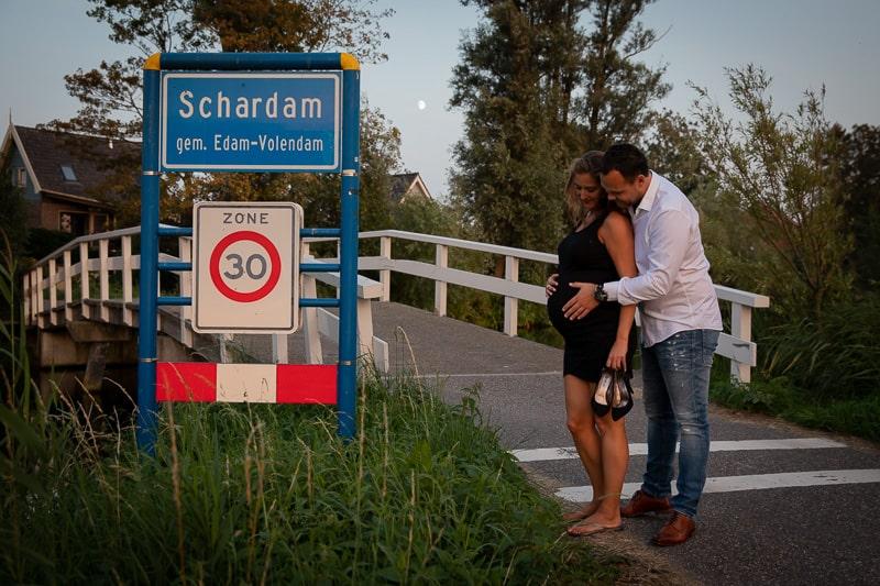 Zwangerschapsreportage in Oosthuizen
