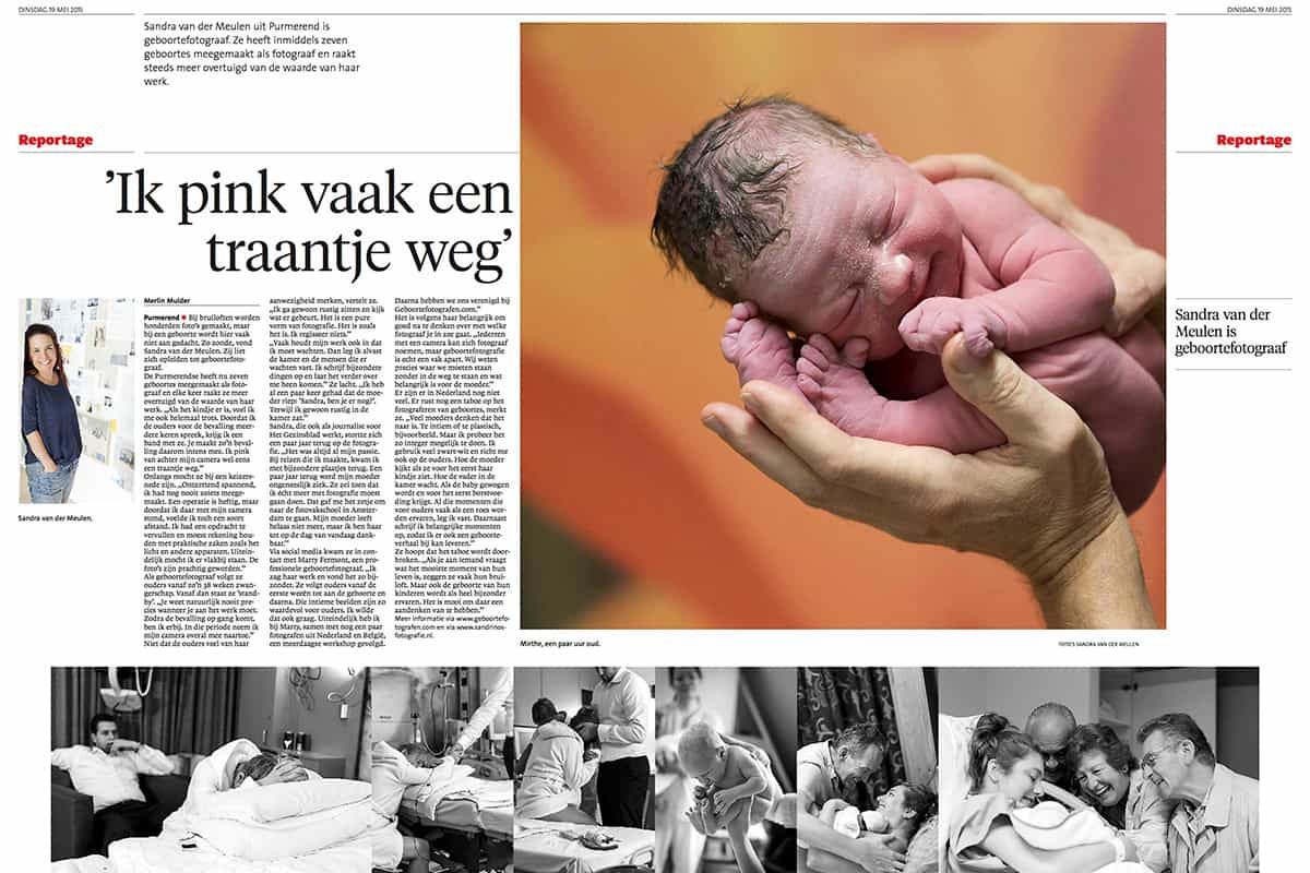 Sandrinos Fotografie in de media