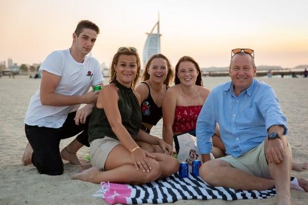 Familie Dubai Sandrinos Fotografie
