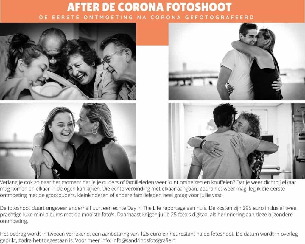 Fotoshoot na de Corona-crisis